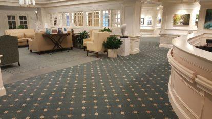 Blue Capret Hotel Lobby