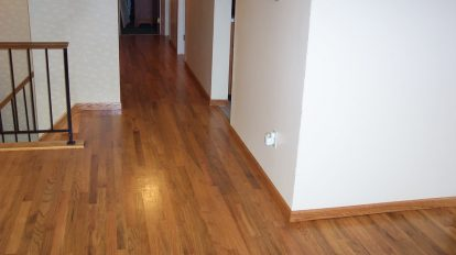 Darker Laminate Hallway