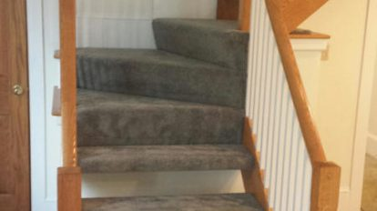 Gray Home Stairs