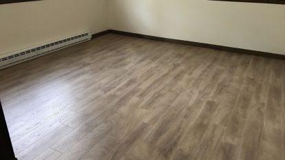 Light Laminate Empty Room