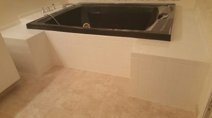 Luxery Bath With Tile