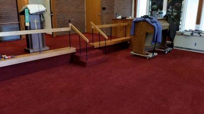 Red Chapel Carpet