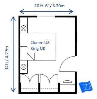Small Bedroom Design Queen 5