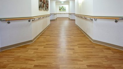 Wooden Vinyl Hallway